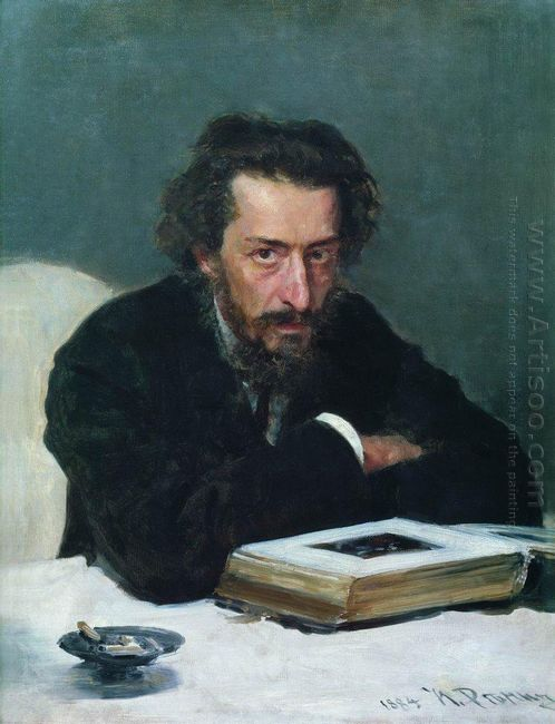 Portrait Of Composer And Journalist Pavel Ivanovich Blaramberg 1