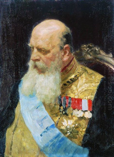 Portrait Of Count D M Solsky 1903