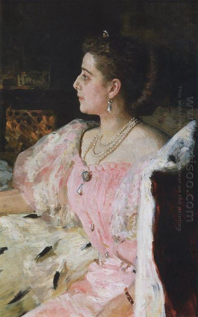 Portrait Of Countess Natalia Golovina 1896