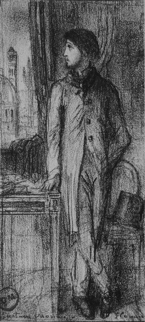 Portrait Of Degas In Florence 1858