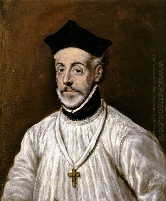 Portrait Of Diego De Covarrubias