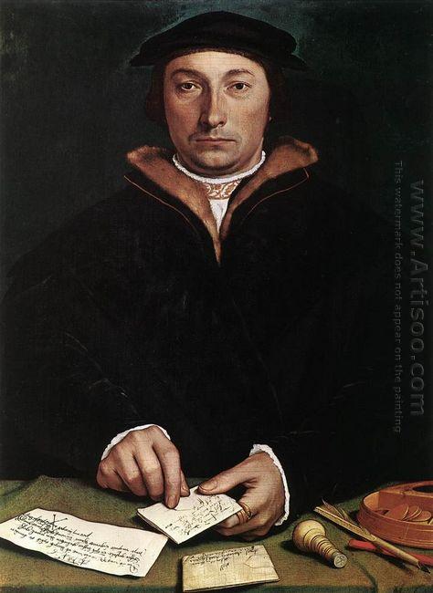 Portrait Of Dirk Tybis 1533