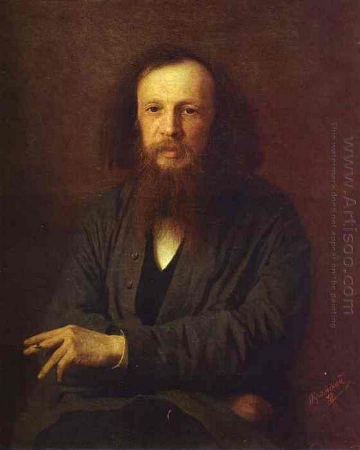 Portrait Of Dmitry Mendeleyev 1878