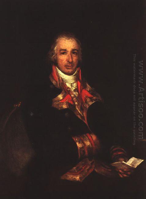 Portrait Of Don José Queralto