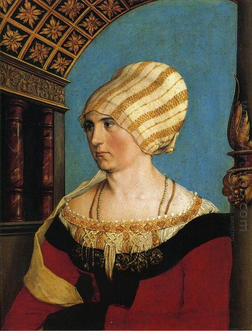 Portrait Of Doprothea Meyer Nee Kannengiesser 1516
