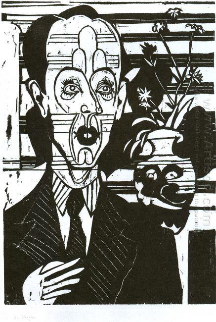 Portrait Of Dr Huggler