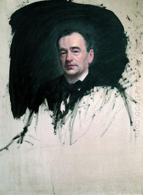 Portrait Of Dr Karl A Rauhfus 1887