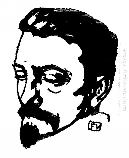 Portrait Of Dutch Writer Multatuli 1896