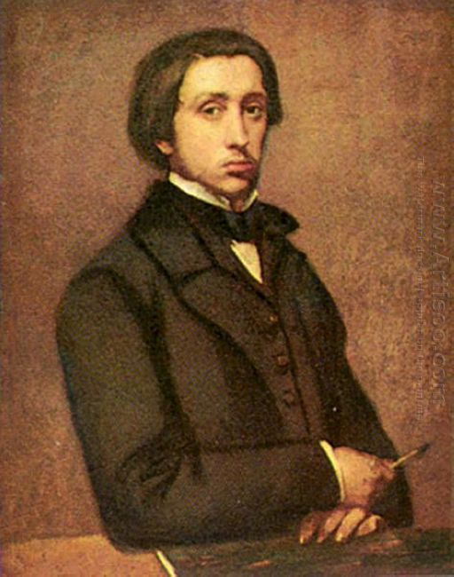 Portrait Of Edgar Germain Hilaire Degas