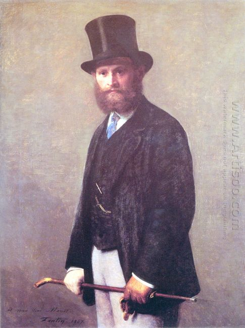Portrait Of édouard Manet 1867