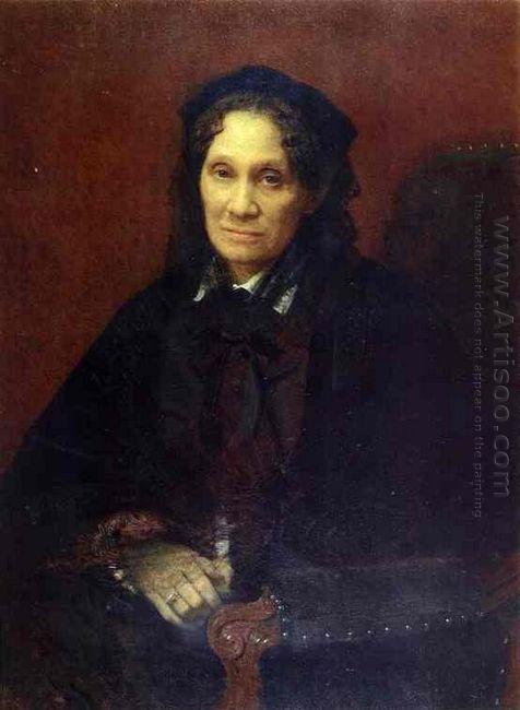 Portrait Of Ekaterina Kornilova 1880