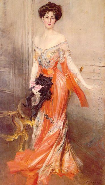 Portrait Of Elizabeth Wharton Drexel 1905