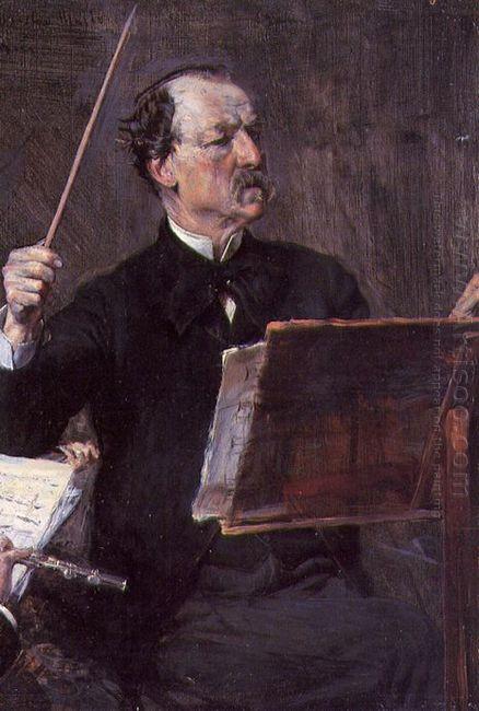 Portrait Of Emanuele Muzio 1892
