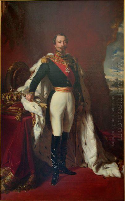 Portrait Of Emperor Napoleon Iii 1855