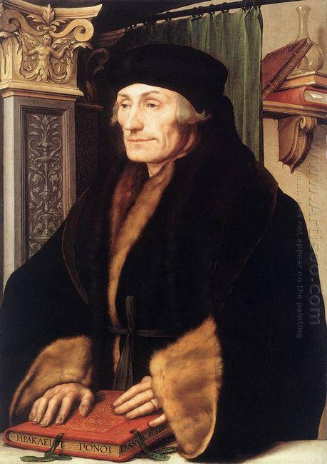 Portrait Of Erasmus Of Rotterdam 1523