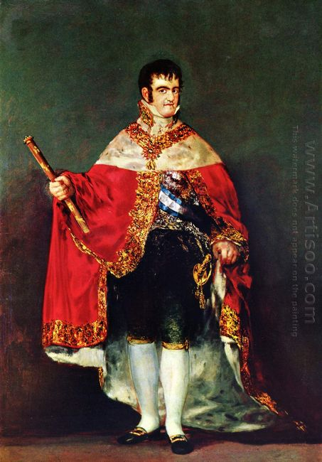 Portrait Of Ferdinand Vii 1814