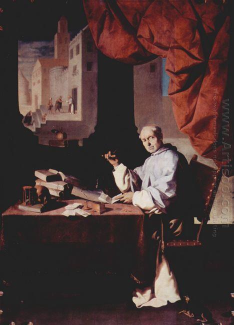 Portrait Of Fra Gonzalo De Illescas 1639