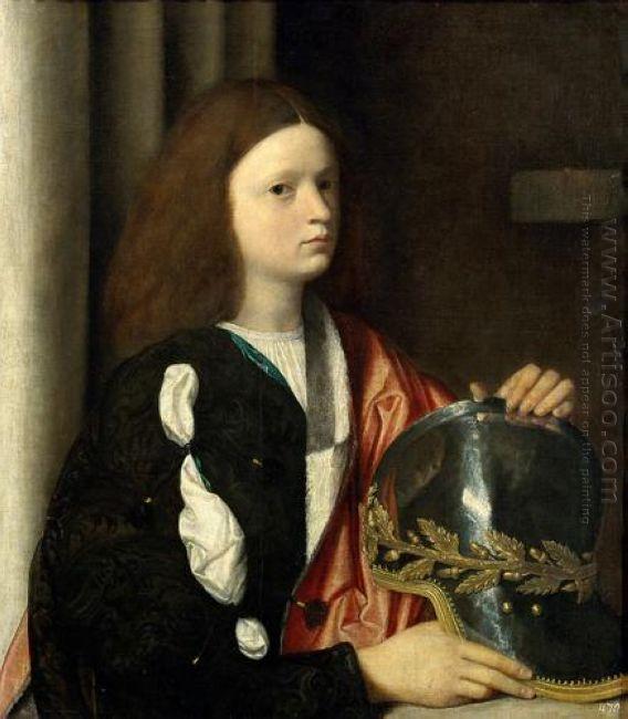 Portrait Of Francesco Maria Della Rovere 1502