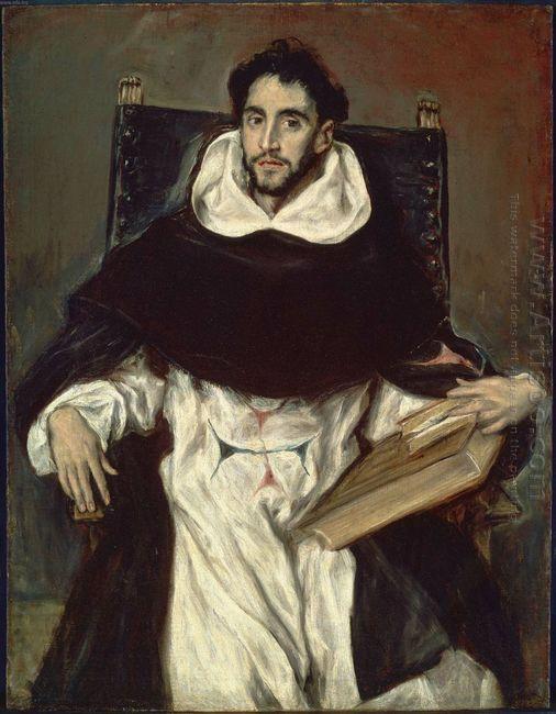 Portrait Of Fray Hortensio Felix Paravicino 1609