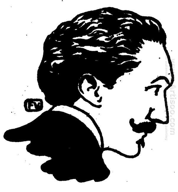 Portrait Of French Poet And Dandy Robert De Montesquiou 1898