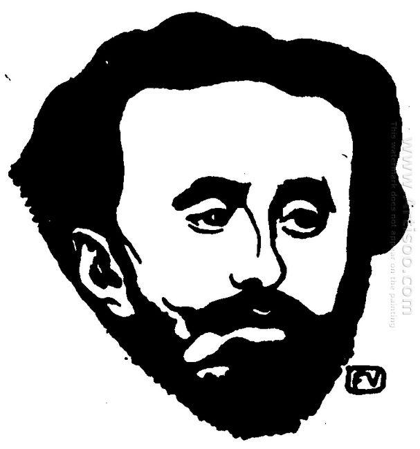 Portrait Of French Poet Tristan Corbi Re 1898
