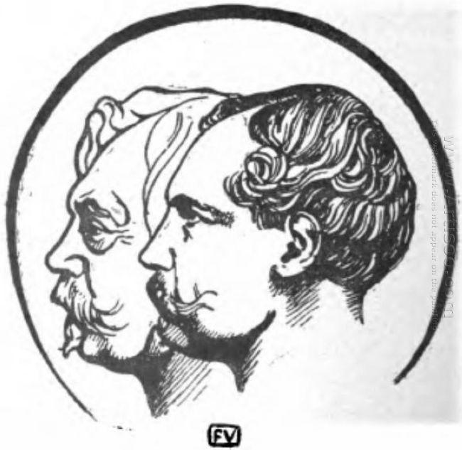 Portrait Of French Writers Jules Et Edmond De Goncourt 1898