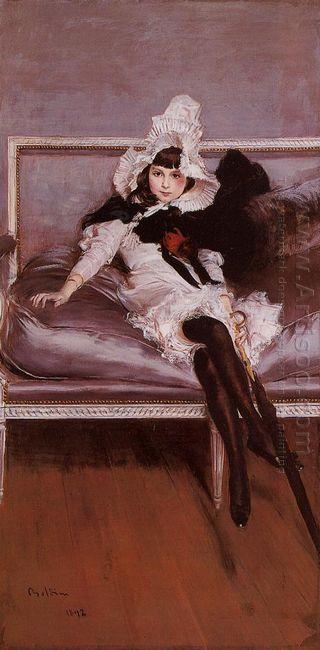 Portrait Of Giovinetta Errazuriz 1892