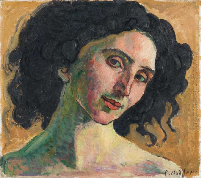 Portrait Of Giulia Leonardi 1910