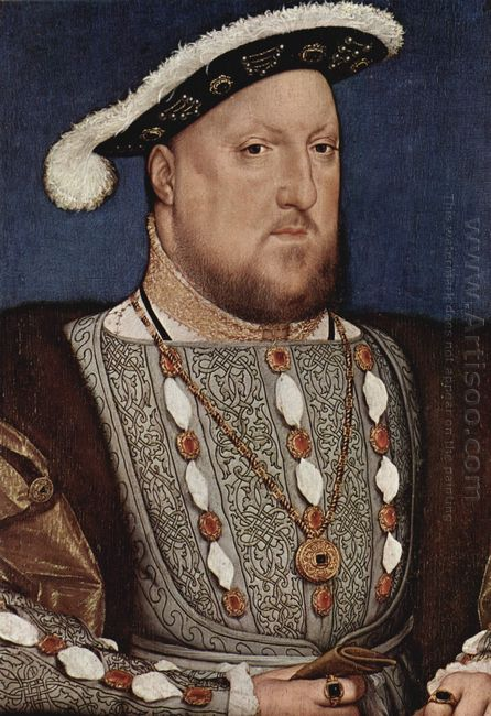 Portrait Of Henry Viii King Of England