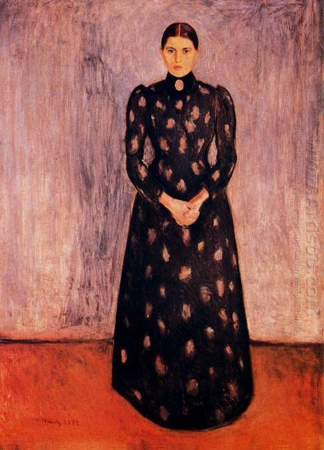 Portrait Of Inger Munch 1892