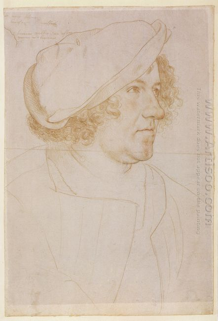 Portrait Of Jakob Meyer Zum Hasen 1516