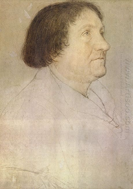 Portrait Of Jakob Meyer Zum Hasen Mayor Of Basel 1528
