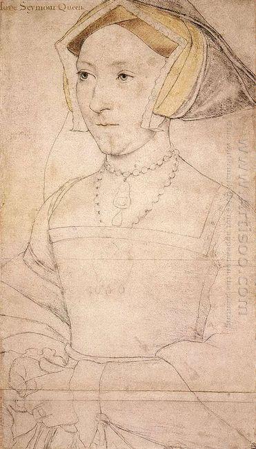 Portrait Of Jane Seymour 1537