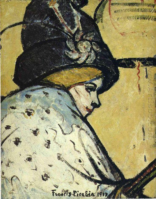 Portrait Of Jeanne Marie Bourgeois 1917