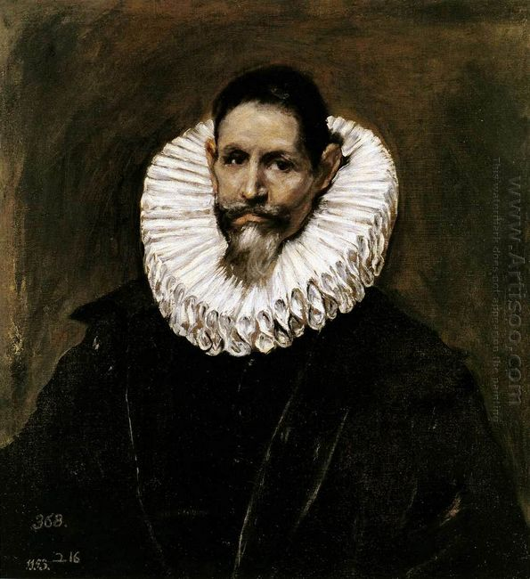 Portrait Of Jeronimo De Cevallos 1613