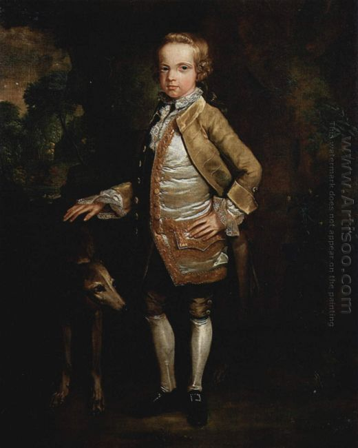 Portrait Of John Nelthorpe As A Child