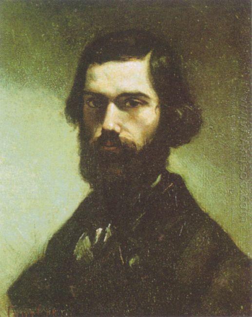 Portrait Of Jules Valles 1865