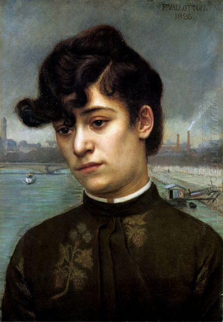 Portrait Of Juliette Lacour Model 1886