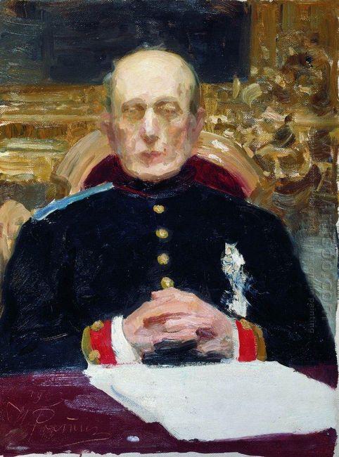 Portrait Of Konstantin Petrovich Pobedonostsev 1903
