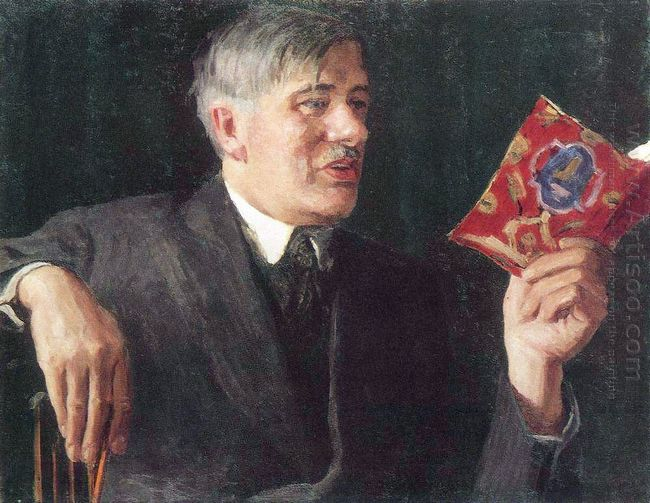 Portrait Of Korney Chukovsky