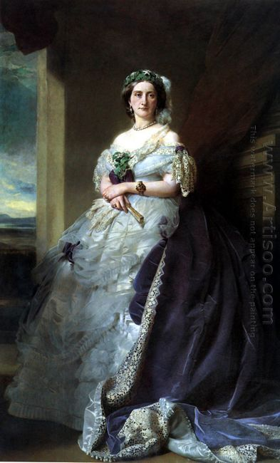Portrait Of Lady Middleton 1863