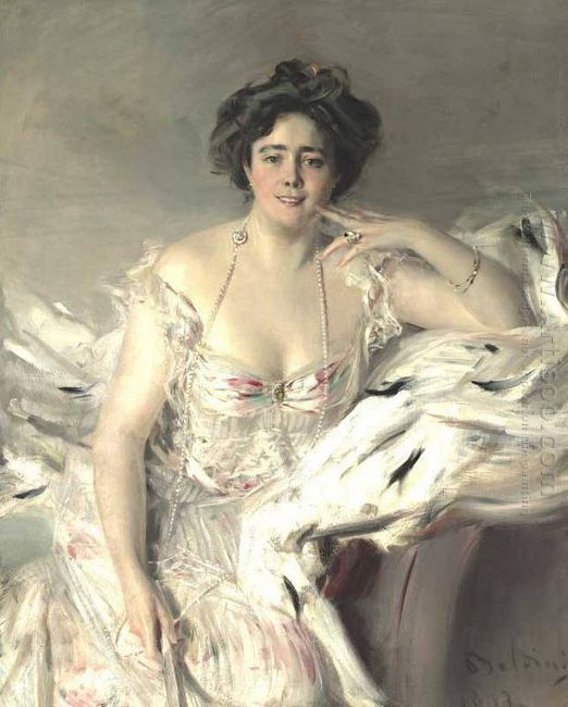 Portrait Of Lady Nanne Schrader 1903