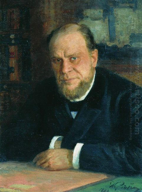 Portrait Of Lawyer Anatoly Fyodorovichm Koni 1898