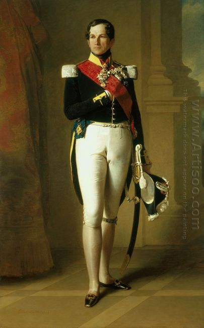 Portrait Of Leopold I Of Belgium