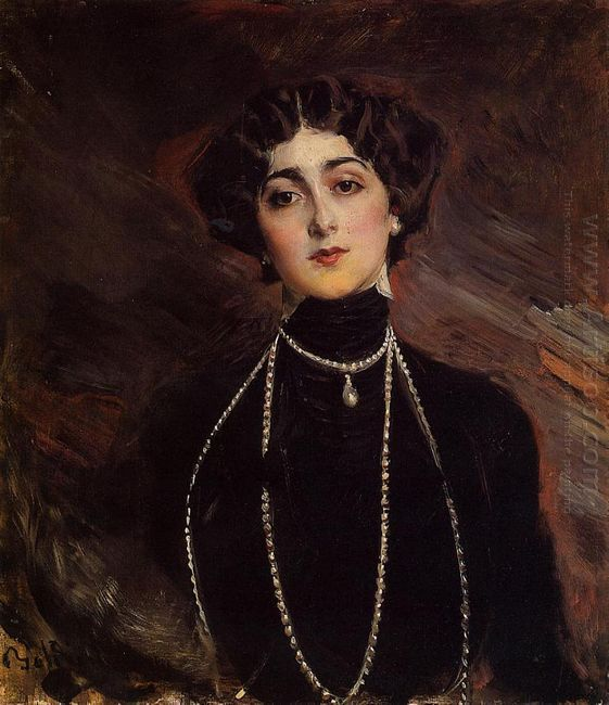 Portrait Of Lina Cavalieri 1901