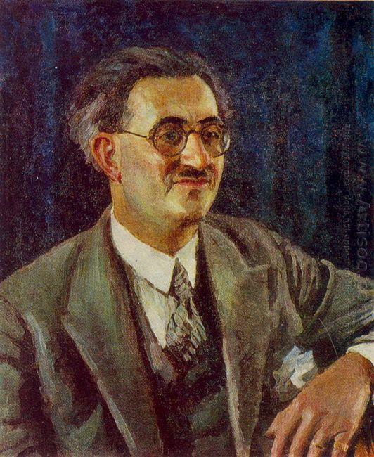 Portrait Of Lo Gatto Ettore
