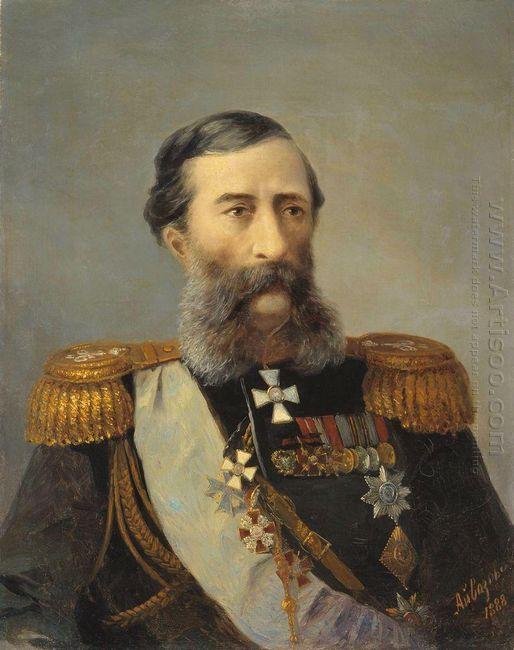 Portrait Of Loris Melikov 1888