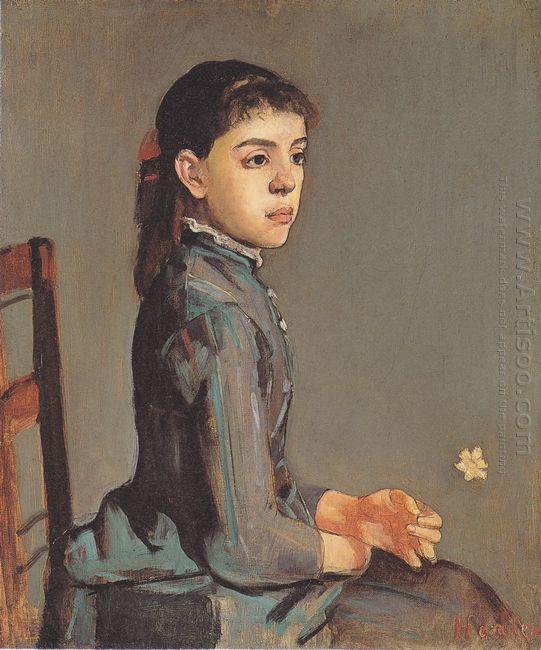 Portrait Of Louise Delphine Duchosal 1885
