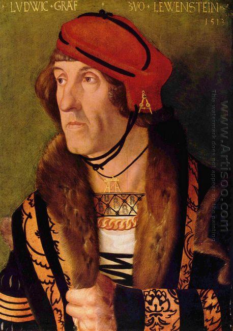 Portrait Of Ludwig Graf Zu Loewenstein 1513