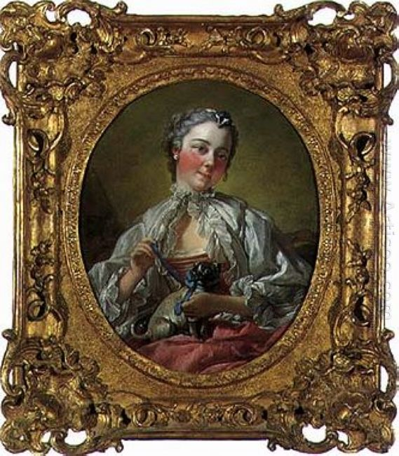 Portrait Of Madame Boucher 1745